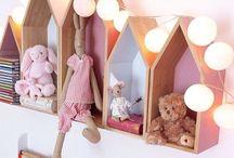 Ξύλινες δημιουργίες παιδικό δωμάτιο