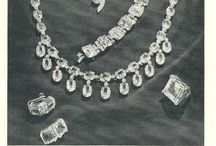 Vintage Jewelry Advertisements / Jewelry Ads and History / by Barb
