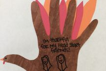 Head Start: Give Thanks / November is a month where we reflect on the things in life that we are grateful for. As we gather with family and friends, we are reminded of all the blessings and opportunities we have had in our lives. This month, we encourage you to think about how you are grateful for Head Start!