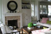 fireplace ideas / by Rachel Ziehnert