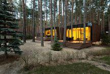 Pequeñas Habitaciones / Espacios habitables de 32 m², independientes de un hotel, en la montaña.