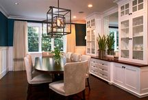 dining room / by Jennifer Ellett-Kelley