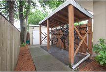 bicikli tároló