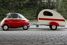 Vehicles - campers and caravans / Mobile living vehicles