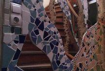 Meine Mosaike in Köln Nippes / Mosaik