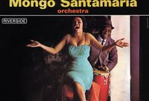 Latin jazz vintage album covers / Artistic photography and design in vintage Latin jazz albums