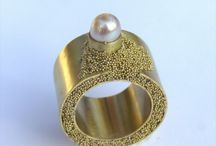 granulation -ancient and contemporary / antique and contemporary jewel  inspiration