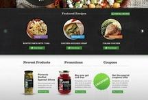 Web Design Food