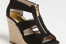 MK Wedge Heel Sandals