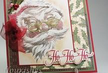 Christmas Santa ho ho / by Kathy Baird