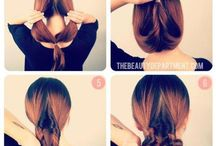Hair todo's! / Easy step by step styling tricks and tips.