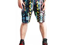 Unisex Training Shorts / Our Unisex Training Shorts are the perfect training shorts for roller derby, perfect for those who are not fans of leggings. 100% polyester light weight 210gsm knitted eyelit performance sports fabric, draws moisture from the surface to evaporate leaving you cool.  Designed in Graffiti Stripe sublimation print with elasticated waistband featuring a small inside pocket suitable for a credit card or mouthguard.