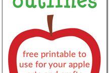 Theme: Apples