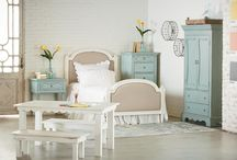 Magnolia Home: French Inspired / From the mind of Joanna Gaines...The French Inspired collection is all about details. This style will introduce effortless elegance, classical details and bring a polished feel to your space. It features vintage finishes, eased edges and pairs perfectly with the substantial pieces in your space.  / by Value City Furniture