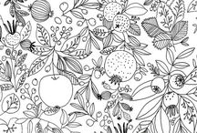 . Floral pattern .