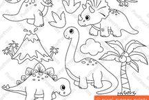 Animais - Dinos