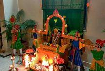 Pooja decoration