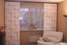 Японские шторы (работы Акмэ)
