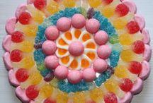 Gâteau de bonbons / Gâteau de bonbons pour fêtes et anniversaires
