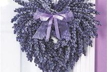Lavender DIY wreaths