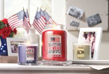Homefront Girl® - NEW Fragrances / New fragrances that honor those serving on the Homefront. For each candle sold in the Homefront Girl® Collection, $1.00 will be donated to Homes for Our Troops. / by Yankee Candle: Scented Candles | Home & Car Air Fresheners, Fragrances & Decor