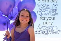 Birthday Party ideas for Tweens / Planning the perfect party for tween girls!