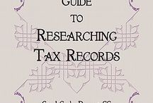Genealogy Books - Helpful Tips / The tax man most always found your ancestor. / by 4YourFamilyStory