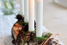 Advent Lights and decorations