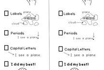 1st grade writing / by Lindsey Lemle