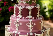 Wedding Cakes, Purple. Indian Weddings Magazine / Indian Wedding Inspirations: Purple Wedding Cakes / by Indian Weddings & California Bride