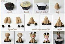 cupcakes noel atelier