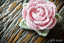 Crocheted Flowers, ect. / by Cindy Peistrack