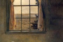 Meddig kísérsz festmény inspirácio / Andrew Wyeth