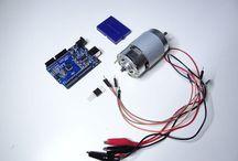 Arduino with motors
