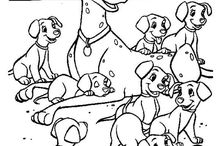 Kifestő - Disney - 101 kiskutya
