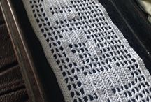 Swear Crochet not for the easily offended! / Filet crochet doilies made to entertain