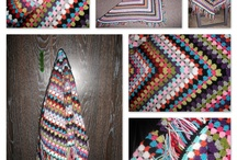 Haken♡omslagdoeken en sjaals