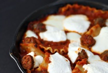 Love my cast iron skillet!  / by Jessica Whitfield