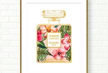 Картина парфюм