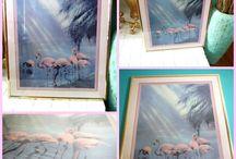Art - Flamingos