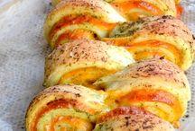 Petits pains et brioches salés