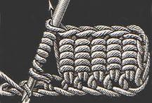 horgolt karkötők