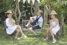 Chic afternoon in the garden  / Flamme Cotton Collection !