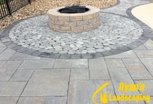 Patio Poolscape in Littlestown - Adams County, PA / Patio hardscape - poolscape project by Ryan's Landscaping in Littlestown - Adams County, PA www.ryanslandscaping.com