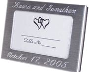 Personalized Place Card Frames