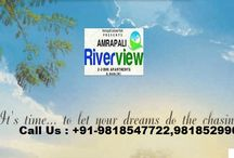 Amrapali Riverview Noida Extension / Call Us : +91-9818547722,9818529966 Welcome to Amrapali Riverveiw Amrapali Riverview New Upcoming Project of Amrapali Group. It is designed around your lavish and luxury life, making sure that you enjoyful a outstanding living.Surrounded by well developed residential areas, shopping complex,hospitalsand for education University and College institutions.This project fulfill your all needs of life.Amrapali Riverview Contains World Class Amenities.  Address-  Sector-1,Noida