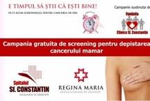 Screening gratuit pentru cancer mamar