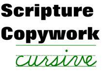 Homeschool Penmanship and Copywork