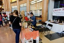 Maker's Faire at Union Terminal (2015) / Chimera Shrubs were happy to participate in Maker's Faire where we helped educate a lot of curious people about fermented drinking vinegars.