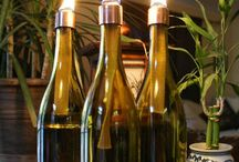 DECORAZIONE DIY CON BOTTIGLIE E VASETTI / Idee fai da te per decorare, risparmiare e riciclare bottiglie e vasetti.